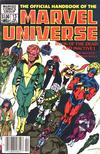 Cover Thumbnail for The Official Handbook of the Marvel Universe (1983 series) #13 [Newsstand]