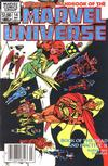 Cover Thumbnail for The Official Handbook of the Marvel Universe (1983 series) #14 [newsstand]