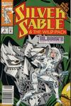 Cover for Silver Sable and the Wild Pack (Marvel, 1992 series) #4 [Newsstand]