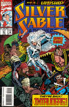 Cover for Silver Sable and the Wild Pack (Marvel, 1992 series) #21