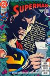 Cover for Superman (DC, 1987 series) #64 [Direct]