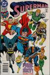 Cover for Superman (DC, 1987 series) #65 [Newsstand]