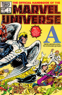 Cover Thumbnail for The Official Handbook of the Marvel Universe (Marvel, 1983 series) #1
