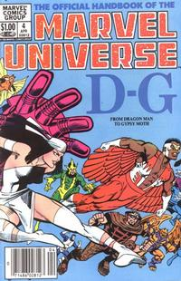 Cover Thumbnail for The Official Handbook of the Marvel Universe (Marvel, 1983 series) #4