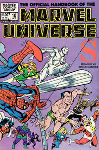 Cover Thumbnail for The Official Handbook of the Marvel Universe (Marvel, 1983 series) #10 [Direct]