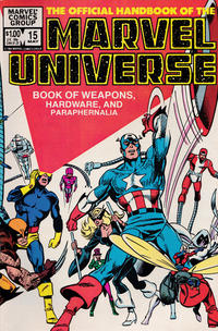 Cover Thumbnail for The Official Handbook of the Marvel Universe (Marvel, 1983 series) #15 [Direct]