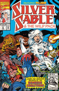 Cover Thumbnail for Silver Sable and the Wild Pack (Marvel, 1992 series) #8