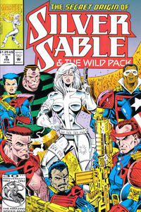 Cover Thumbnail for Silver Sable and the Wild Pack (Marvel, 1992 series) #9 [Direct]