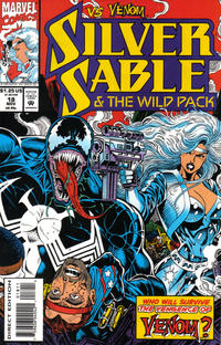 Cover Thumbnail for Silver Sable and the Wild Pack (Marvel, 1992 series) #18