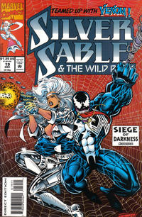 Cover Thumbnail for Silver Sable and the Wild Pack (Marvel, 1992 series) #19