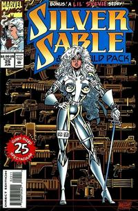 Cover Thumbnail for Silver Sable and the Wild Pack (Marvel, 1992 series) #25