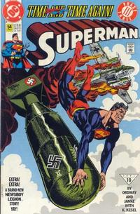Cover Thumbnail for Superman (DC, 1987 series) #54 [Direct]