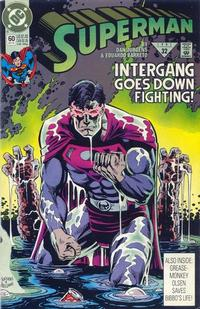 Cover Thumbnail for Superman (DC, 1987 series) #60 [Direct]