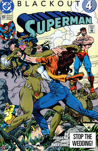 Cover Thumbnail for Superman (DC, 1987 series) #62 [Direct]