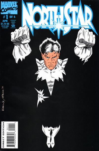 Cover for Northstar (Marvel, 1994 series) #1