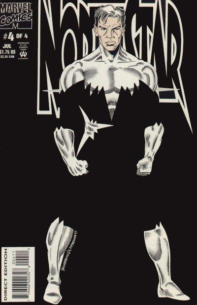 Cover for Northstar (Marvel, 1994 series) #4