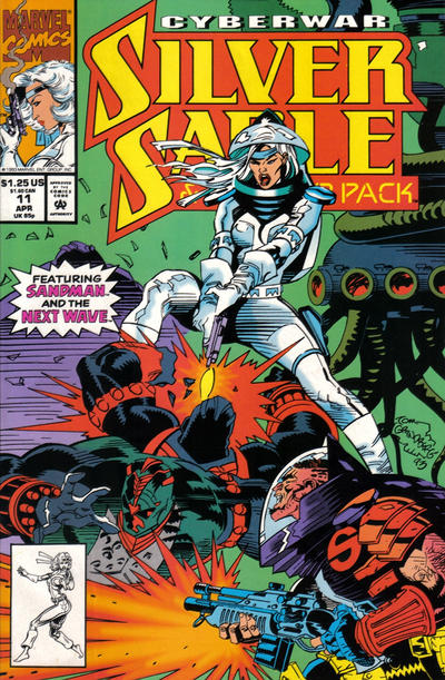 Cover for Silver Sable and the Wild Pack (Marvel, 1992 series) #11