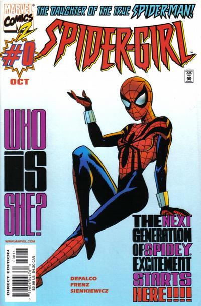 Cover for Spider-Girl (Marvel, 1998 series) #0