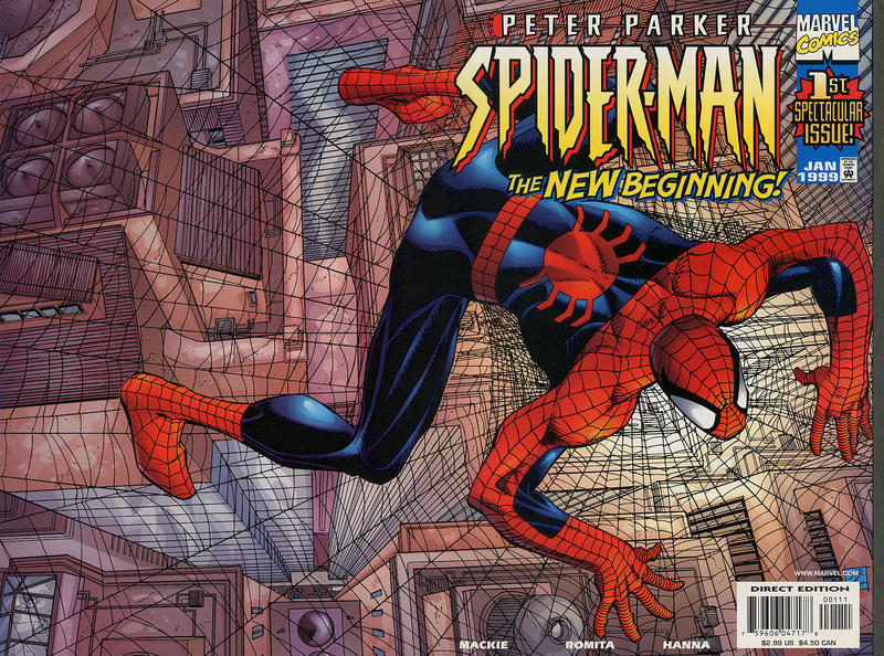 Cover for Peter Parker: Spider-Man (Marvel, 1999 series) #1 [Cover A]