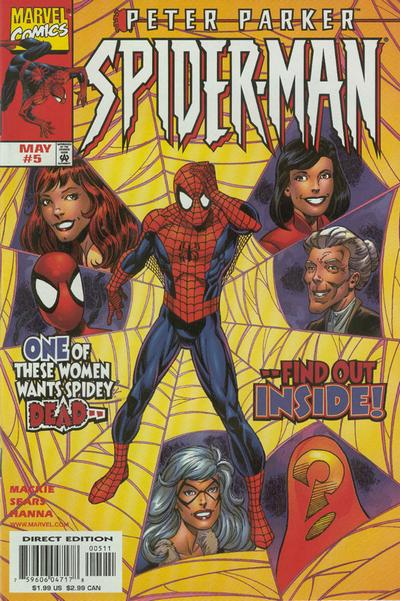 Cover for Peter Parker: Spider-Man (Marvel, 1999 series) #5