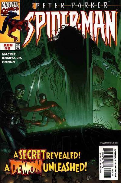 Cover for Peter Parker: Spider-Man (Marvel, 1999 series) #8