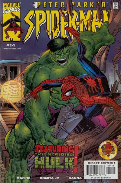 Cover for Peter Parker: Spider-Man (Marvel, 1999 series) #14