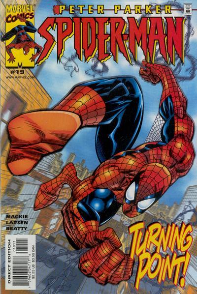 Cover for Peter Parker: Spider-Man (Marvel, 1999 series) #19