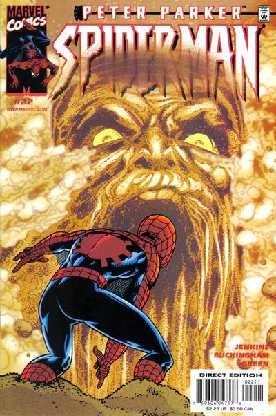 Cover for Peter Parker: Spider-Man (Marvel, 1999 series) #22