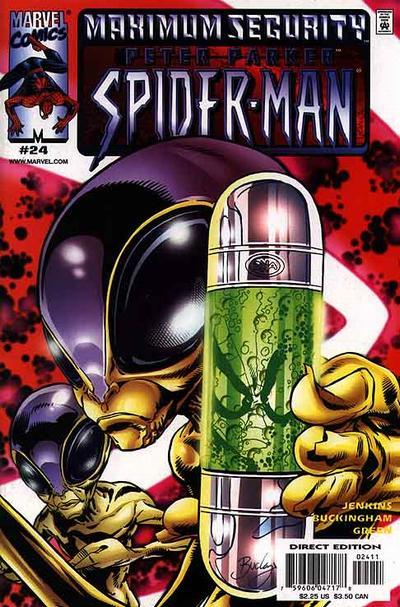 Cover for Peter Parker: Spider-Man (Marvel, 1999 series) #24