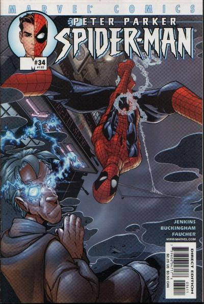 Cover for Peter Parker: Spider-Man (Marvel, 1999 series) #34 (132)