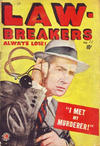 Cover for Lawbreakers Always Lose (Bell Features, 1948 series) #11