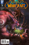 Cover for World of Warcraft (DC, 2008 series) #5 [Samwise Didier Cover Variant]