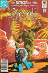 Cover for The Saga of Swamp Thing (DC, 1982 series) #17 [Canadian Price Variant]