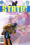 Cover for Static (DC, 1993 series) #10 [Newsstand]