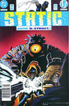 Cover for Static (DC, 1993 series) #12 [Newsstand]