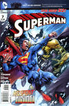 Cover for Superman (DC, 2011 series) #7 [Direct Sales]