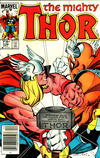 Cover for Thor (Marvel, 1966 series) #338 [Canadian variant]