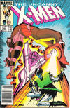 Cover Thumbnail for The Uncanny X-Men (1981 series) #194 [Canadian variant]