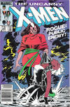 Cover Thumbnail for The Uncanny X-Men (1981 series) #185 [Canadian]