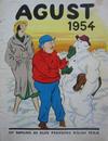 Cover for Agust [julalbum] (Åhlén & Åkerlunds, 1931 series) #1954