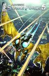 Cover for Jurassic Strike Force 5 (Zenescope Entertainment, 2011 series) #3 [Cover B]