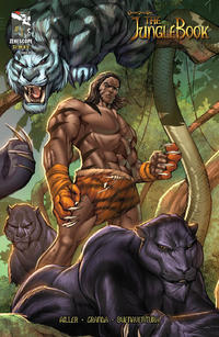 Cover Thumbnail for Grimm Fairy Tales Presents The Jungle Book (Zenescope Entertainment, 2012 series) #1 [Cover C by Ale Garza & Nei Ruffino]