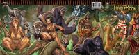 Cover Thumbnail for Grimm Fairy Tales Presents The Jungle Book (Zenescope Entertainment, 2012 series) #1 [Gatefold Cover E by Ale Garza & Nei Ruffino]