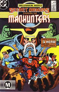 Cover Thumbnail for Secret Origins (DC, 1986 series) #22 [Direct]