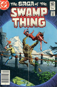 Cover Thumbnail for The Saga of Swamp Thing (DC, 1982 series) #12 [Canadian Price Variant]