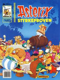 Cover Thumbnail for Asterix (Hjemmet / Egmont, 1969 series) #24 - Styrkeprøven [4. opplag]