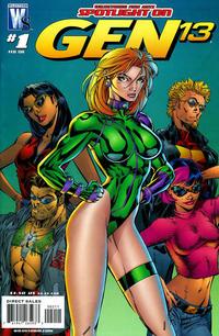Cover Thumbnail for Wildstorm Fine Arts: Spotlight on Gen 13 (DC, 2008 series) #1