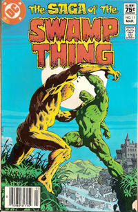 Cover Thumbnail for The Saga of Swamp Thing (DC, 1982 series) #11 [Canadian Price Variant]