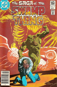 Cover Thumbnail for The Saga of Swamp Thing (DC, 1982 series) #17 [Canadian Price Variant]
