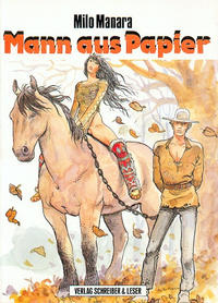 Cover Thumbnail for Mann aus Papier (Schreiber & Leser, 1988 series)